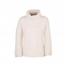 Кашемировый свитер белый